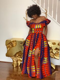 Kordae Store - Home Wherever - African Print African African Clothing head wrap head wraps african clothing women african cl - African Maxi Dresses, Ankara Dress, African Attire, African Wear, African Women, Ankara Long Gown Styles, Trendy Ankara Styles, African Inspired Fashion, African Print Fashion
