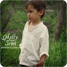 Melly Sews a Sewing for Boys shirt and I love it!