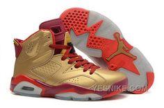 Vind Air Jordans 6 Retro Metal Gold/Deep Red-Varsity Red For Sale online of in Jordany. Shop Top Brands en de nieuwste stijlen Air Jordans 6 Retro Metal Gold/Deep Red-Varsity Red For Sale van ten Jordany. Air Jordan Retro, Air Jordan Vi, Air Jordan Shoes, Jordan Sneakers, Cheap Sneakers, Red Sneakers, Nike Sneakers, Women's Shoes, New Jordans Shoes