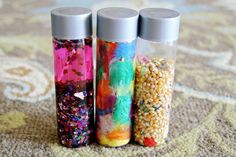Homemade Sensory Bottles