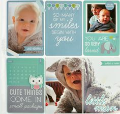 Kaisercraft Little One - Life Bebe Baby, Baby Boy, Baby Scrapbook Pages, Picture Layouts, Kids Pages, Baby Mine, Art Journal Inspiration, Project Yourself, Life Tips