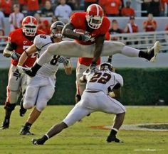 ... and this would be one of my other favorite UGA photos... Knowshon!!!