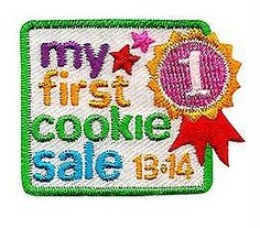 1000 images about 2014 cookie patches on pinterest girl