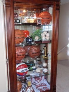 Displaying Sports Memorabilia