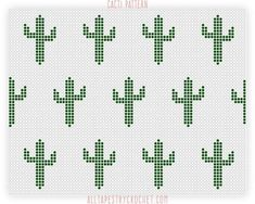 Cacti saguaro cactus tapestry crochet pattern free tapestry crochet pattern from alltapestrycrochet com**This pattern uses a modified single crochet stitch** This pattern is dedicated to my second home; the state of Arizona. Crochet Pattern Free, Tapestry Crochet Patterns, Crochet Motifs, Crochet Diagram, Crochet Chart, Crochet Stitches, Pixel Crochet, Bead Crochet, Knitting Charts