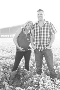 Dairy Farm Maternity Photo