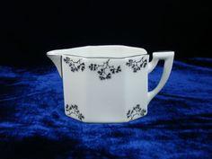 Sold - vendu - Keramics - Ebay - pot à lait crémier Art déco porcelaine Limoges TLB années 30