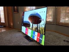 cool LG 65  4K OLED  HDR  Unboxing  Review Best TV of 2016