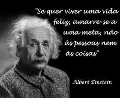 Albert Einstein - If you want to live a happy life, attach yourself to an objective; not to life nor to people. Words Quotes, Life Quotes, Good Sentences, Albert Einstein Quotes, Life Philosophy, Magic Words, Strong Quotes, Some Words, Quotations