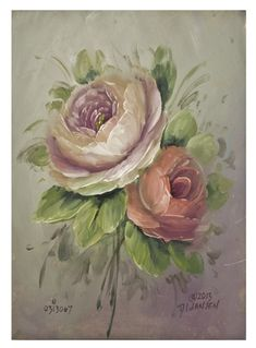 Beginners Guide to Paint It Simply Flowers - Jansen Art Store Time Painting, Painting Lessons, Fabric Painting, Art Lessons, Watercolor Flowers, Watercolor Art, Rose Art, Learn To Paint, Vintage Flowers