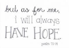 psalm 71:14 - Jenny Ikari Design