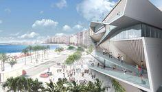 Veja abaixo mais imagens do projeto do escritório Diller Scofidio + Renfro , vencedor do Concurso de Ideias, realizado para escolher o projeto arquitetônico da nova sede do Museu da Imagem e do Som…