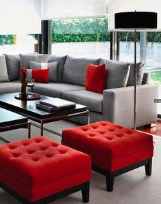 Red Living Room Furniture | Red Black Living Room Furniture Ideen Fur Wohnzimmer Gestalten