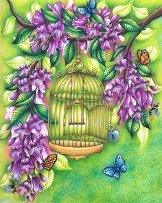 #blomstermandala #mariatrolle #prismacolor