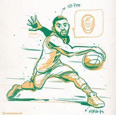 Basketball Drawings, Sports Drawings, Basketball Posters, Basketball Art, Basketball Pictures, Basketball Drills, Irving Wallpapers, Dope Wallpapers, Cartoon Pics