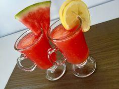 Arbuzowa lemoniada Watermelon, Food And Drink, Fruit, Vegetables, Drinks, Blog, Drinking, Beverages, Vegetable Recipes