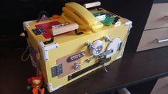 Busy box, child gifts, busy boards, activity board, sensory doard, sensory toys, wooden toy, latch board, travel board, lock