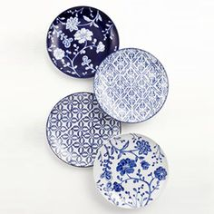Add elegance and charm to your dinner table with these lovely French ceramic dishes.