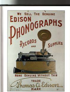Edison phonograph ad