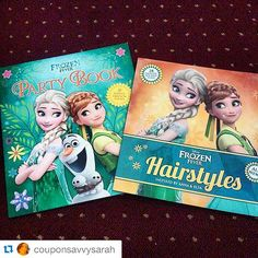 Read @couponsavvysarah's full blog review of #Disney Frozen Fever #Hairstyles and Disney #Frozen Fever #Party Book by @eddausa ・・・ Sooo excited about this review from @eddausa - Love @Disney #Frozen and #FrozenFever  #bloggerreview