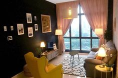 Check out this great place to stay in Johor Bahru Places Around The World, Around The Worlds, Johor Bahru, Interior Paint, Great Places, Living Room, Check, Blue, Home Decor