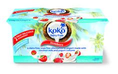 Koko Dairy Free | New Koko Dairy Free Strawberry Yogurt Alternative |