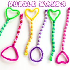 Crafts for Kids - DIY Bubble Wand