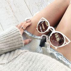 b317b9b4ba3 cat-eye sunnies  quay Quay Sunglasses