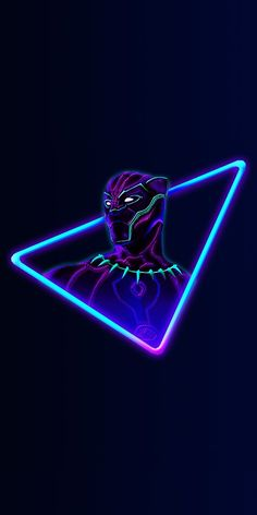 Marvel Neon: psychedelic wallpapers for your mobile devices - - Marvel Avengers, Marvel Fan, Marvel Dc Comics, Marvel Heroes, Black Panther Marvel, Black Panther Art, Superhero Wallpaper Hd, Neon Wallpaper, Avengers Wallpaper