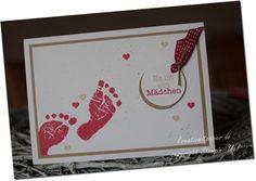Sehr schöne Babykarte