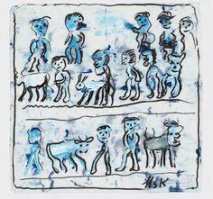 Krüsi, Hans Art Brut, Art Sites, Outsider Art, Oeuvre D'art, Les Oeuvres, The Outsiders, Moose Art, Abstract, Switzerland