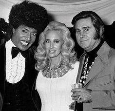 Little Richard, Tammy Wynette and George Jones