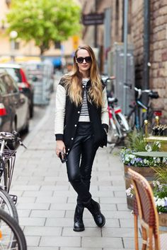 How to Look Stylish in a Varsity Jacket | StyleCaster