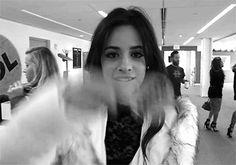 Camren // Camila Cabello and Lauren Jauregui // When your crush smiles at you (GIF)