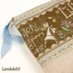Lendule53 / Andělské hvězdičky....:o),originál, vyšívaná