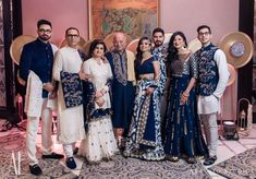 11 Families Who Coordinated Their Outfits To Perfection For The Big Day! wedding outfits 11 Families Who Coordinated Their Outfits To Perfection For The Big Day! Couple Wedding Dress, Wedding Dresses Men Indian, Indian Dresses, Indian Outfits, Wedding Outfits For Groom, Pakistani Dresses, Indian Bridesmaids, Bridesmaid Outfit, Couple Outfits