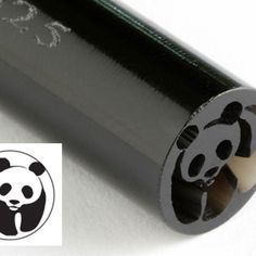 KS-025-Panda Bear 10 mm acrylic stamp by Kor Tools.