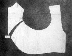 DigitaltMuseum Subject Drakt, Snittmonster Produksjon 1840 - 1850 ca. Folk Costume, Costumes, Pattern Making, Anna, Vest, Sewing, Norway, Fashion Design, 18th Century