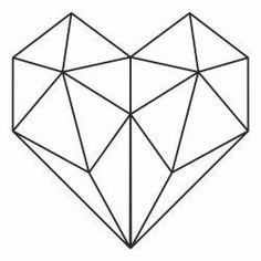 The Effective Pictures We Offer You About Tattoo Pattern women A quality picture can tell you many things. You can find the most beautiful pictures that can be presented to you about Tattoo Pattern ar Geometric Heart, Geometric Shapes, Hand Embroidery Art, Embroidery Patterns, Geometric Drawing, Geometry Art, Diy Crafts Hacks, Barn Quilts, String Art