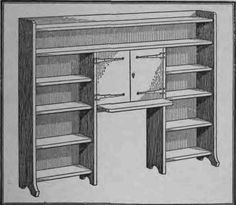 Google Afbeeldingen resultaat voor http://chestofbooks.com/home-improvement/woodworking/Things-To-Make/images/How-To-Make-A-Desk-With-Book-Shelves-73.jpg