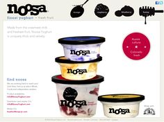 Noosa!  Mmmmmm...Best yogurt on the planet. Beware, once you eat it, it's tough to have anything else .