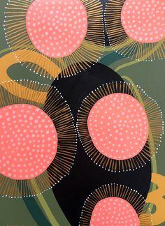 Art Public auctions: Early American Art – Buy Abstract Art Right Painting Inspiration, Art Inspo, Motifs Textiles, Acrylic Painting On Paper, Guache, Australian Art, Aboriginal Art, Botanical Art, Botanical Drawings