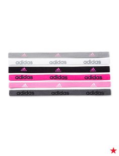 Don't let sweaty hair ruin your summer runs. Keep your hair in place with elastic headbands from Adidas that stay put thanks to gel grips.