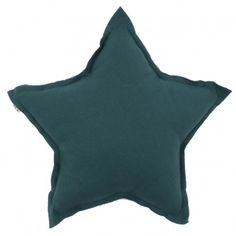 Star cushion -Petrol blue  Numero 74 - önskar oss eget rum!