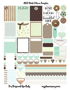 My Planner Envy: Planner Stickers