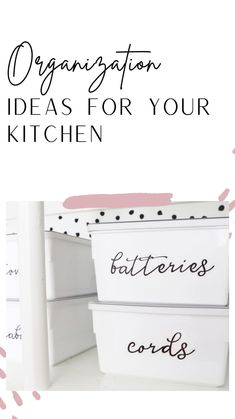 Pantry Organization, Kitchen Organizers, Declutter Your Home, Cute Home Decor, Tiny House Plans, Getting Organized, Hair Tie Storage, Clean House, Camper Storage