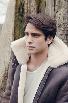 Luke Pasqualino. Definitely the boyfriend hair.