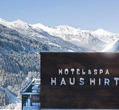 Ein außergewöhnliches Designhotel in den Alpen mit wunderbarem Panoramablick: im Alpine Spa Hotel Haus Hirt in Bad Gastein.