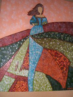 Recopilación de Menimas (pág. 12) | Aprender manualidades es facilisimo.com Magic Design, Abstract Faces, Illustration Art, Art Illustrations, Sewing Hacks, Glass Art, Decoupage, Diy And Crafts, Mosaic