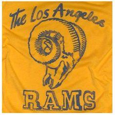 la rams | Men's Los Angeles Rams T-Shirt – Vintage T-Shirt Review – Palmer ...